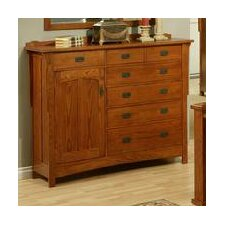 Heartland Manor 7 Drawer Gentleman's Chest