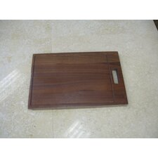 Hardwood Cutting Board for RS Series Single Bowl Sinks