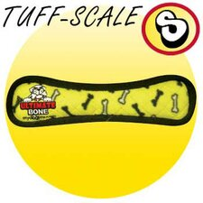Ultimate Bone Dog Toy in Yellow
