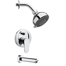 Peleo Pressure Balance Tub and Shower Faucet