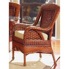 Autumn Morning Fabric Arm Chair