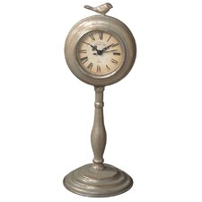 Bird Desk Clock on Stand