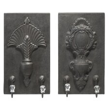 Crest Wall Hook (Set of 2)