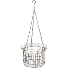 Fence Basket Hanging Planter