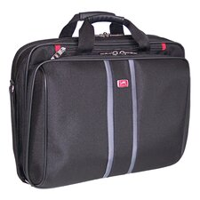 Biztech CompuCase 3-Triple Compartment Laptop Briefcase