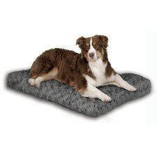 Quiet Time Ombre Swirl Dog Bed in Grey