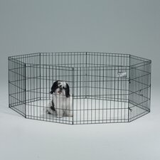 Exercise Pen without Door in Black Finish