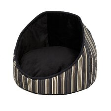 Quiet Time Cabana Reversible Stripes Dog Bed