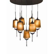 Versa 7 Light Pendant Chandelier