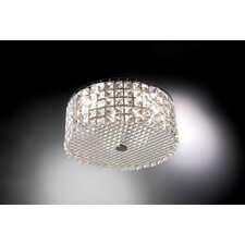 Glam 3 Light Flush Mount