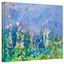 Claude Monet ''Lavender Fields'' Canvas Art