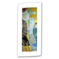 "Gustav Klimt 'Water Serpents Blonde"" Canvas Wall Art"