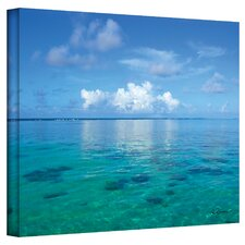 George Zucconi ''Lagoon and Reef'' Canvas Art