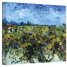 Vincent Van Gogh ''Green Vineyard'' Canvas Art