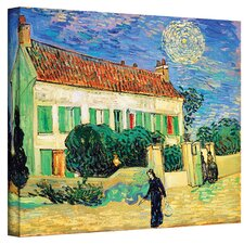 Vincent Van Gogh ''The White House at Night'' Canvas Art