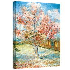 Vincent Van Gogh ''Pink Peach Tree'' Canvas Art