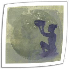 Elena Ray 'Astral Goddess' Unwrapped Canvas Wall Art