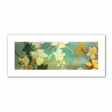 Jan Weiss 'Shadow Florals' Unwrapped Canvas Wall Art