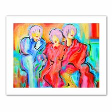 Susi Franco 'The Consensus' Unwrapped Canvas Wall Art