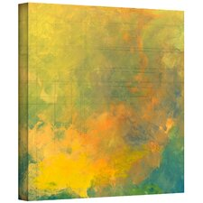 Jan Weiss 'Earth and Lines I' Gallery-Wrapped Canvas Wall Art