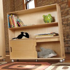 TrueModern Two-Shelf Bookcase