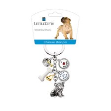 Chinese Shar Pei V3 Key Chain