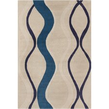 Cinzia Cream/Blue Rug