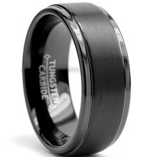 Men's Tungsten Comfort Fit Wedding Band