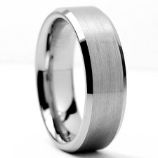 Tungsten Carbide Comfort Fit Band