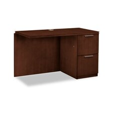 "Arrive Single Pedestal 29.5"" H x 48"" W Right Desk Return"