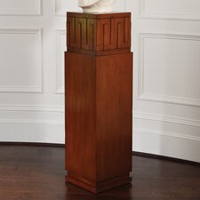 French Key Pedestal Plant Stand