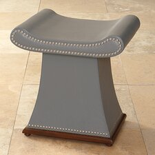 Sultan Cowhide Leather Bench