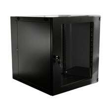 15u Double Section Wall Mount Cabinet