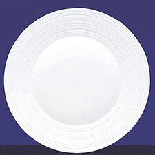 "Fine Bone China Swirl 9"" Plate"