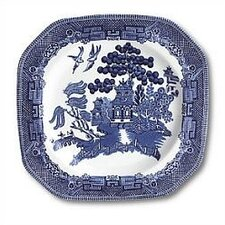 Willow Blue Square Salad Plate