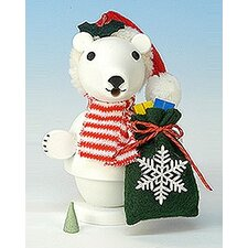 Polar Bear Santa Smoker