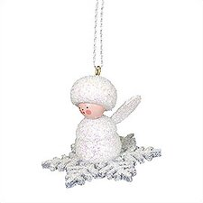 Snowflake Angel Ornament
