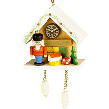 Nutcracker Cuckoo Clock Ornament