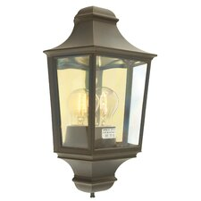 Turin Outdoor Half Wall Lantern