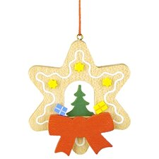 Christian Ulbricht Star Shaped Gingerbread Cookie Ornament