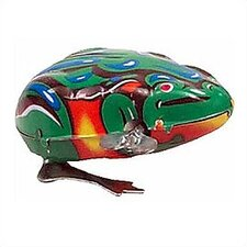 Tin Jumping Frog Toy