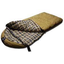 +0 Degree Oversized Canvas Sleeping Bag