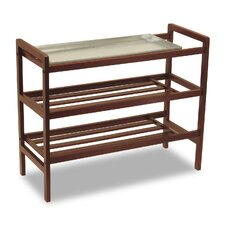 Shoe Rack with Shelves
