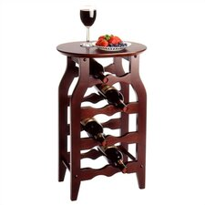 Espresso 8 Bottle Wine Rack