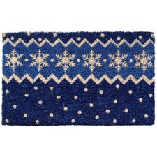 Handmade Snow Pattern Doormat