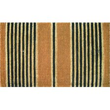 Extra Thickness Coir Ticking Stripes Coconut Fiber Doormat