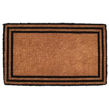 Extra Thickness Coir the One with the Border Doormat