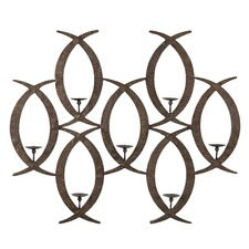 Empire Iron/Acrylic Wall Sconce