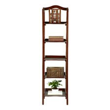 Exford 5 Tier Shelf Etagere Bookcase