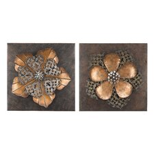 Floral Wall Décor (Set of 2)